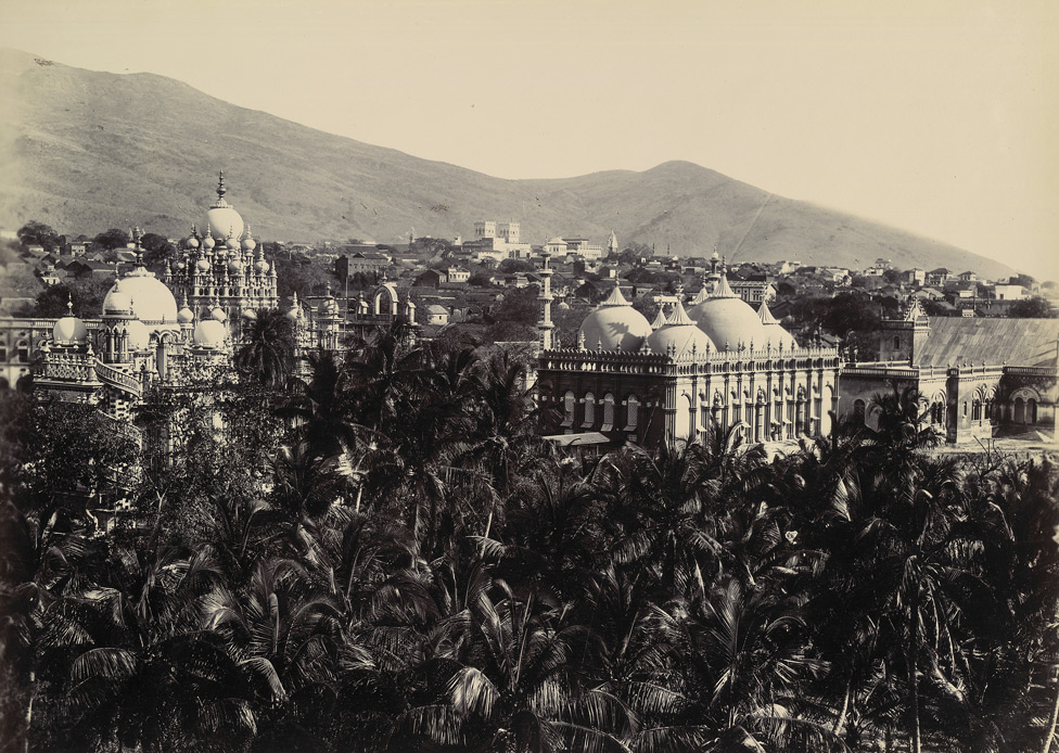 Birds eye view of Junagadh city from the Reay Gate Tower